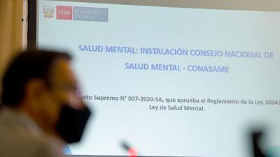 Presidente Vizcarra instala el Consejo Nacional de Salud Mental [VIDEO]
