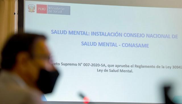 Vizcarra instala el Consejo Nacional de Salud Mental