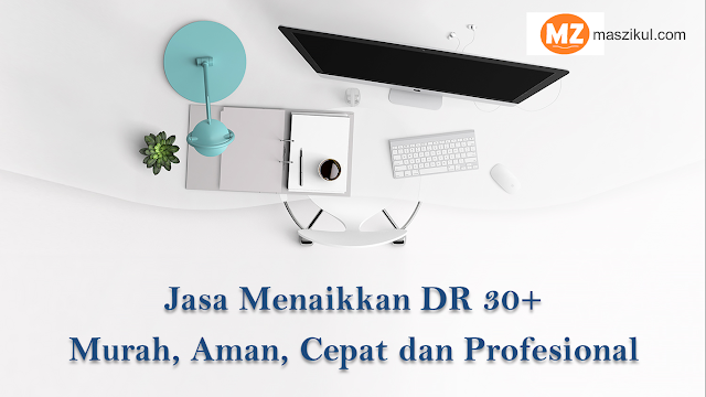 Jasa Menaikkan DR 30+ Murah, Aman, Cepat dan Profesional