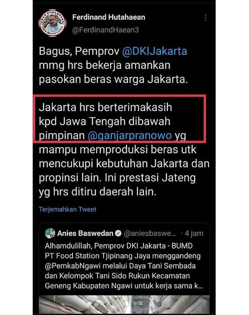 Maksudnya Mau Nyerang Anies, Tapi Sebut Ngawi Jawa Tengah, Ferdinand Dibully Bodoh dan Otak Dikit