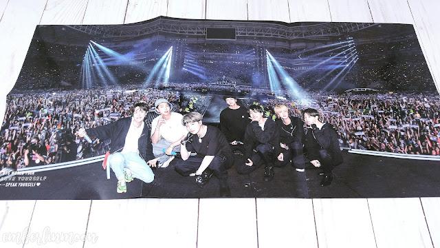 BTS Speak Yourself Sao Paulo Brazil DVD | Folded Poster