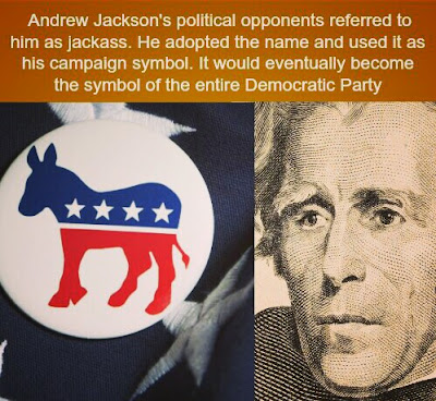 America Ke Democratic Party Ka Nishan Kya Hai.