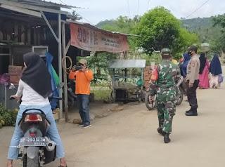 Operasi Yustisi Yang Dilaksanakan Gabungan Tni Polri Dan Satpol PP Dijalan Poros Kecamatan Malua