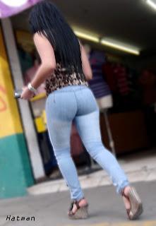 mujeres sexys pantalon apretado