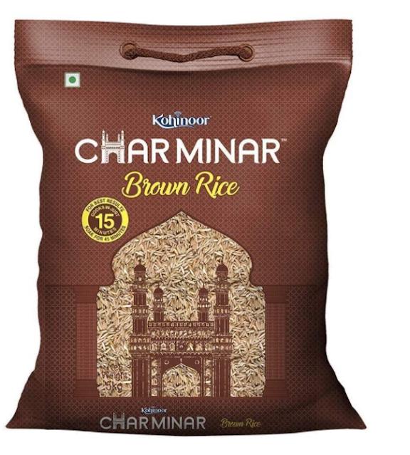 Kohinoor Charminar Brown Rice, 5 Kg Pack