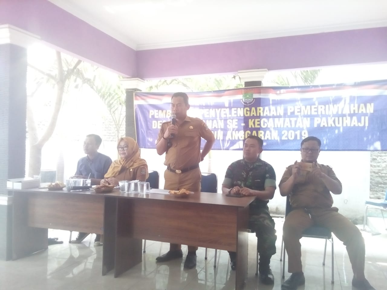 Desa Kalibaru Ekspos Realisasi APBDes 2019