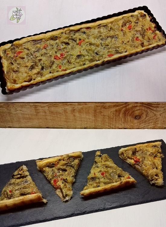 Tartaleta Vegana de Setas para Picoteo.