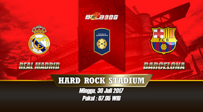 Prediksi Skor International Champions Cup, Real Madrid vs Barcelona 30 Juli 2017