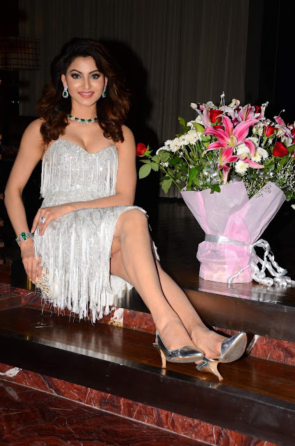 Urvashi Rautela At Her 23rd Birthday Celebrations In Mumbai