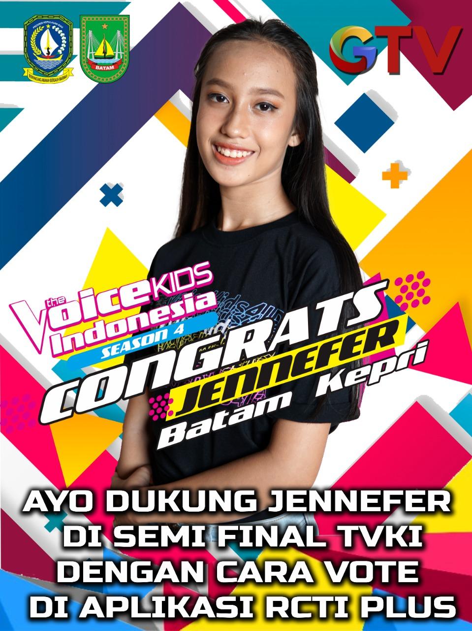 Bupati Lingga Mengajak Masyarakat Kepri Dukung Jennefer Salah Satu Peserta The Voice Kid Indonesia Season 4