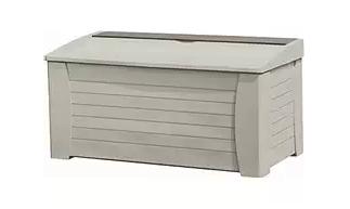 Suncast DB12000 Deck Box 127-Gallon, Plastic garden Storage Box, Garden Storage Box, Garden Storage Boxes, Plastic Storage Boxes, Garden Boxes, Plastic Deck Storage Container Box, Keter, Suncast, Rubbermaid, Deck Boxes, Plastic Deck Boxes, ,