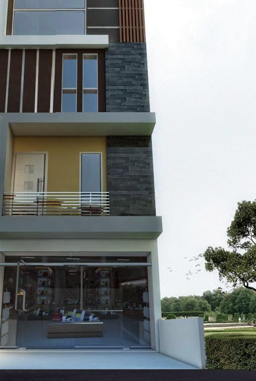 Jasa Eksterior Ruko Design Bernuansa Minimalis Bertingkat Modern Terbaru 2014 Design 3d Interior Exterior