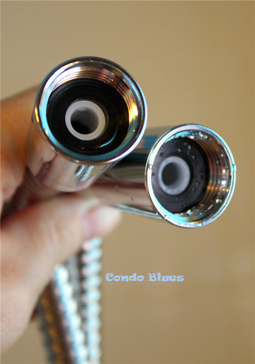 Condo Blues: How to Install a Delta In2ition Showerhead with ...
