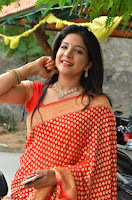 Sakshi Agarwal  in Orange Saree at Inauguration of Handloom And Handicraft exhibition ~  Exclusive 03.JPG