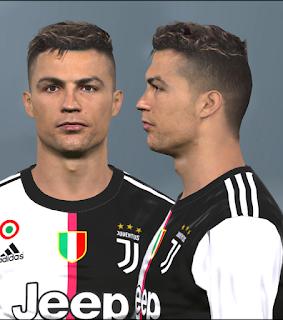 PES 2017 Faces Cristiano Ronaldo by Alief