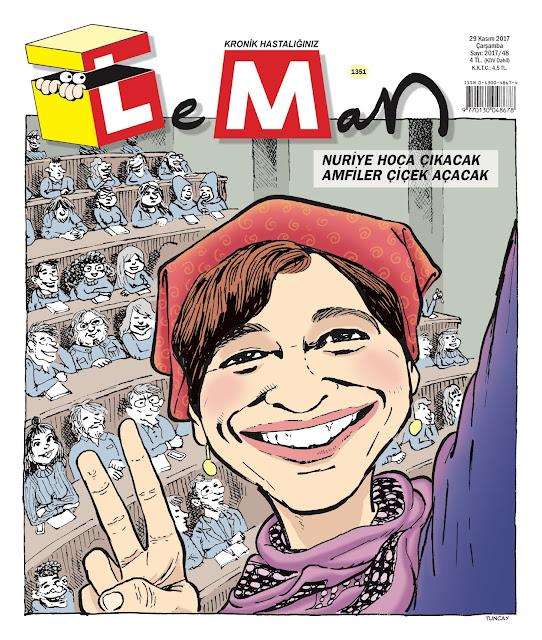 nuriye gülmen karikatürü