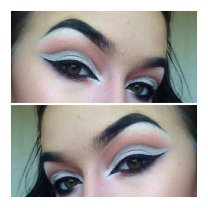 how to do a cut crease step by step