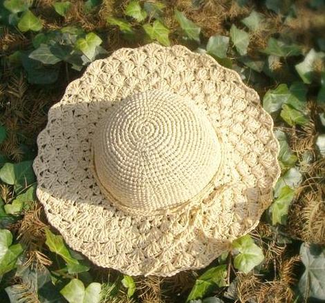 Patrón 983 Sombrero a Ganchillo