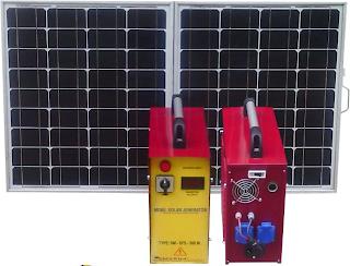 mobil solar aydınlatma