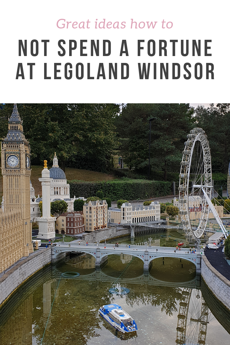 Tips and tricks on how to get cheap tickets to Legoland Windsor, and how have a great day out in Legoland Windsor on a budget.
