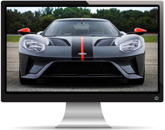 Ford GT Carbon Face - Fond d'écran en Ultra HD 4K 2160p