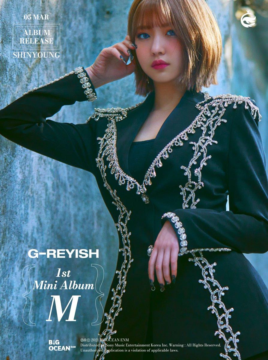 g-reyish m comeback shinyoung