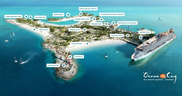 Msc Crociere svela nuovi dettagli su Ocean Cay