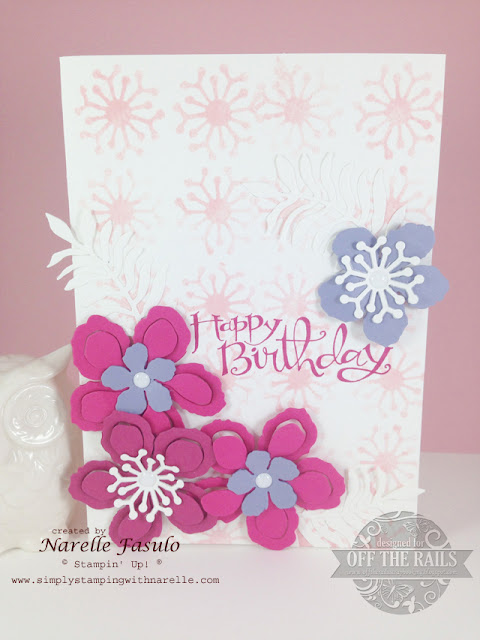 Using the Negatives - Off The Rails Scrapbooking - Simply Stamping with Narelle