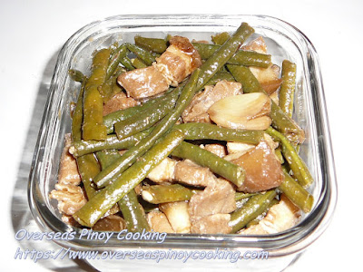 Adobong Sitaw with Baboy Recipe