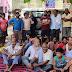 नगर विकास परिषद के बैनर तले परिषद के सदस्यों ने किया धरना प्रदर्शन