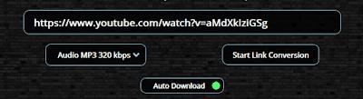 Cara Convert Youtube ke Mp3 Kualitas HD 320kbps