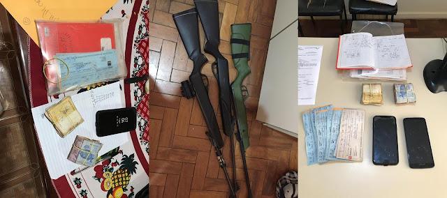 Operação da Polícia de Faxinal resulta em apreensão de armas e prisão de suspeito