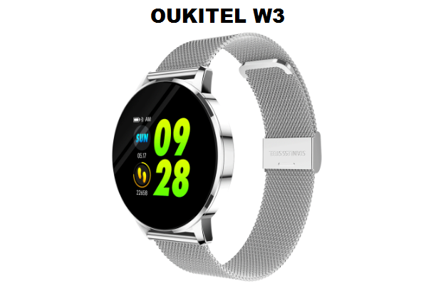 OUKITEL W3 Fashionable SmartWatch Specs, Features and Price