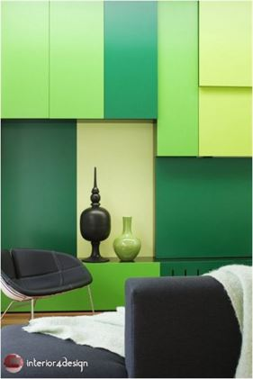 Green Color In Details Of Interior Designs 24