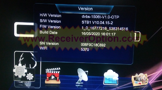 1506T 512 4M STB1 ORYX M1 HD RECEIVER NEW SOFTWARE 16 MAY 2020