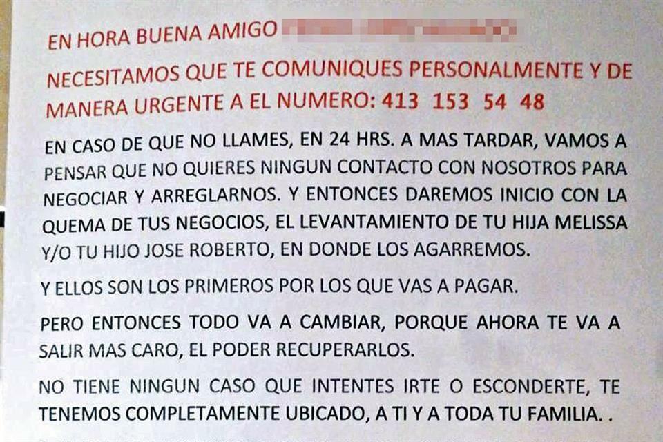 """""""Paga y ni te quejes, la autoridad nos avisa"""", comienzan a dejar panfletos en casas y negocios de Guanajuato con las siglas del CJNG"""
