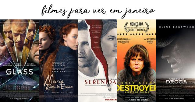 Filmes Que Chegam Aos Cinemas em Janeiro....