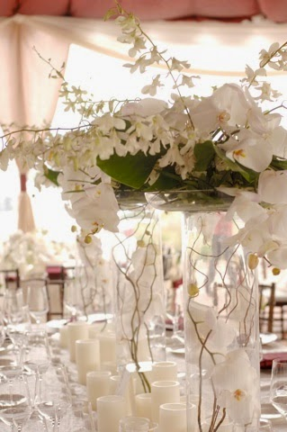 orchids centerpieces for your wedding