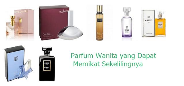 Merk parfum wanita yang wanginya tahan lama