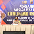 Operasi Ketupat Candi 2021, Kapolda Jateng Beri Arahan Persiapan Pengamanan Jalur Mudik
