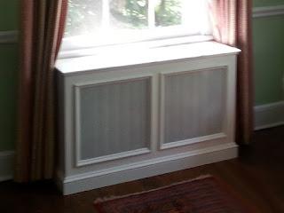Custom radiator cover