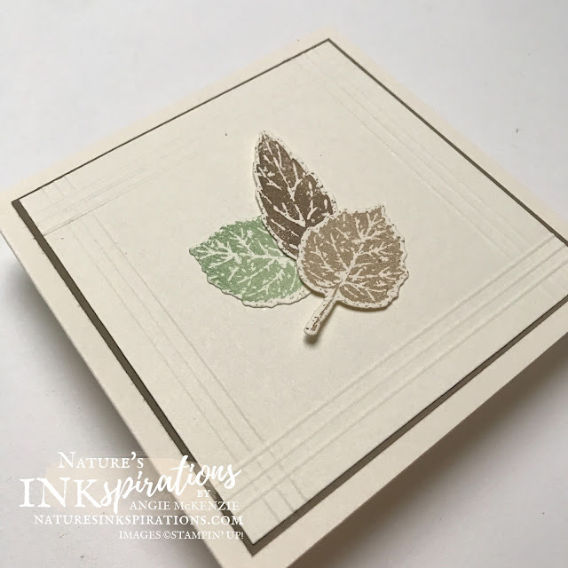 By Angie McKenzie Stampin' Up! Demonstrator for Ink and Inspiration Blog Hop; Click READ or VISIT to go to my blog for details! Featuring the Gorgeous Leaves Bundle (includes the Gorgeous Leaves Cling Stamp Set and Intricate Leaves Dies), the Heartfelf Wishes Cling Stamp Set and the Pick a Pumpkin Stamp Set in the July-December 2021 Mini Catalog by Stampin' Up!®; #gorgeousleaves #intricateleaves  #anyoccasioncards #autumncards #justanote #thankyoucards #stampinupcolorcoordination #simplestamping #inkandinspirationbloghop #stampingtechniques #simplelayers #papercrafts #diecutting #cleanandsimple #overstampingtechnique #naturesinkspirations #juldec2021minicatalog #bloghops #iibh #stampinup #handmadecards