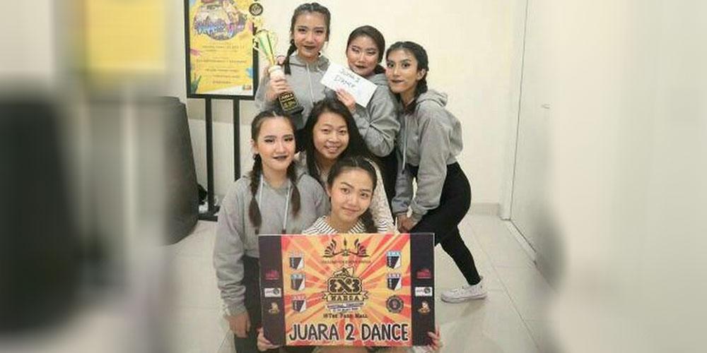 Tim Dance SMA KK Runner Up Kejuaraan Dance Antar Pelajar