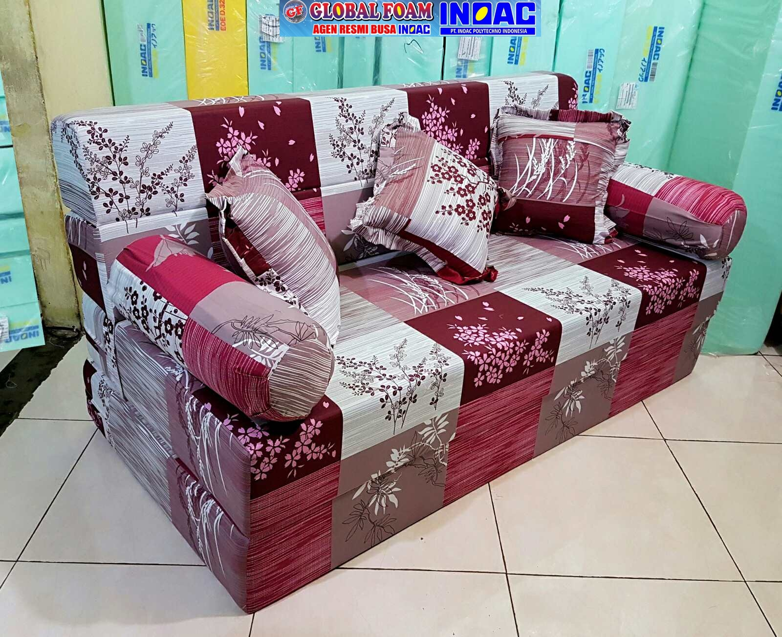 Harga Sofa Bed Inoac 2019 Distributor Dan Agen Resmi Kasur