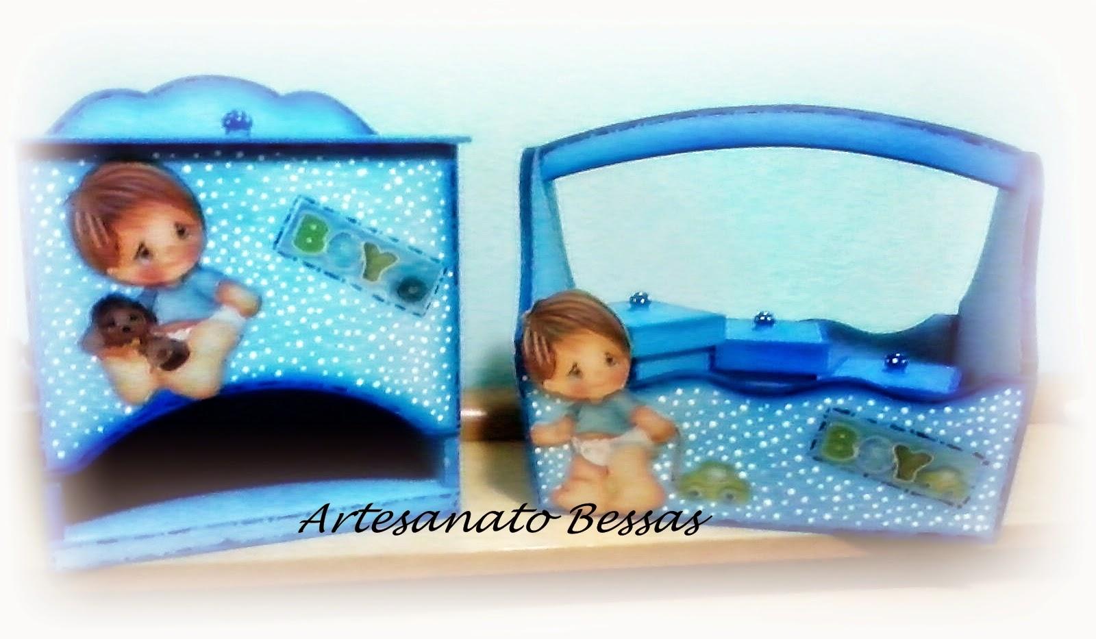 Aparador Antigo Laqueado ~ Artesanato Bessas Kit higiene