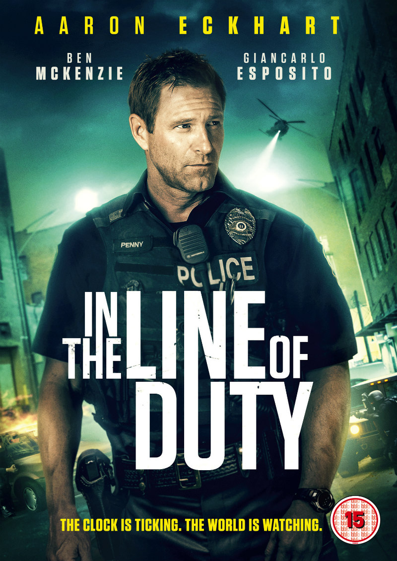 in the line of duty poster