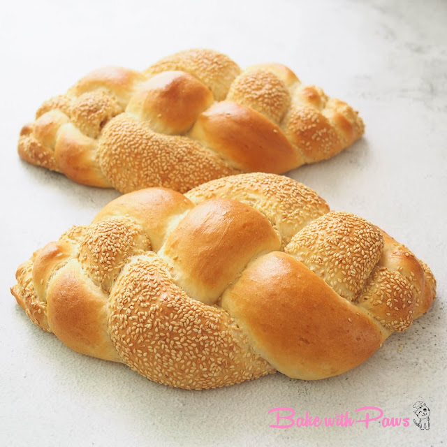 Sesame Braided Bread