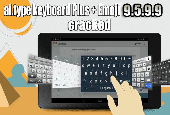 تحميل ai.type keyboard Plus + Emoji 9.5.9.9 APK لوحة المفاتيح الاحترافيه للأندرويد الداعمة لأكثر من 50 لغة