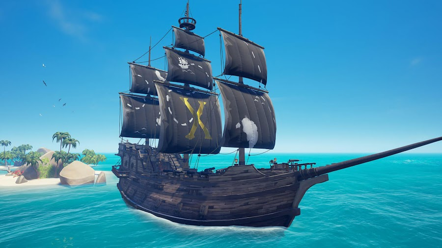 sea of thieves x marks the spot sails and emotes january 22 legends of the sea free monthly content update live pc xb1 dlc rare studio