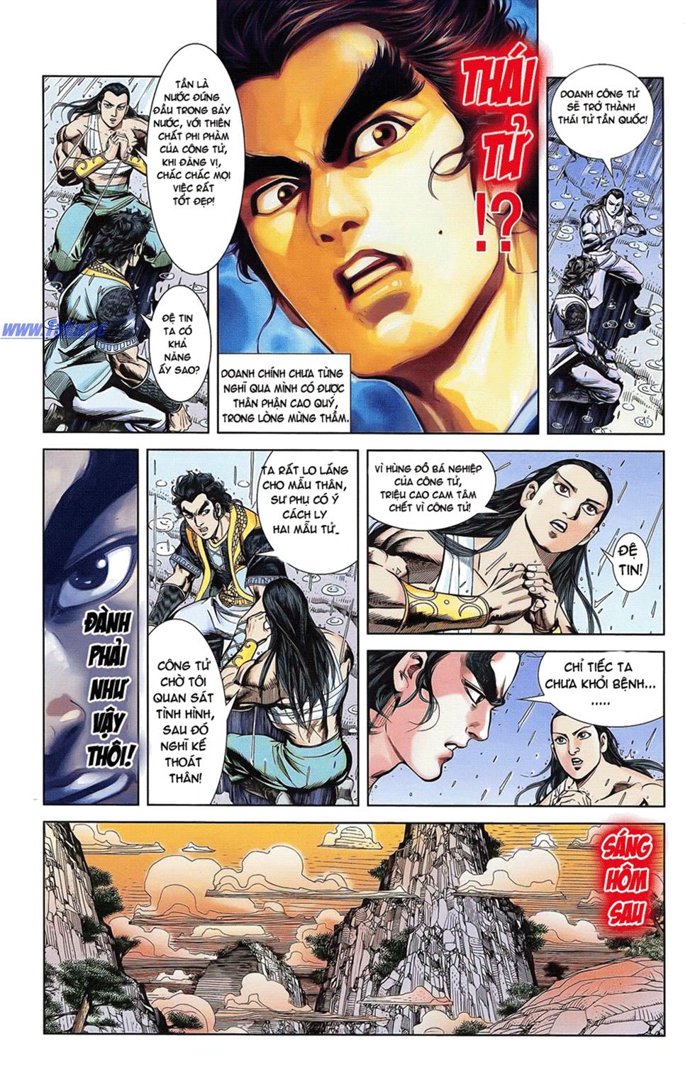 Tần Vương Doanh Chính chapter 18 trang 10